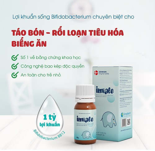 Imiale lợi khuẩn Bifidobacterium BB12-02