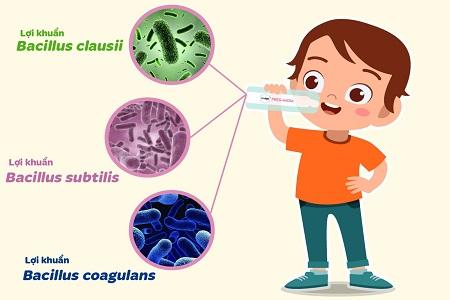 lợi khuẩn cho trẻ