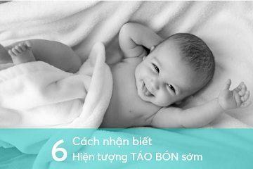 6 cách nhận biết hiện tượng táo bón sớm ở trẻ nhỏ.