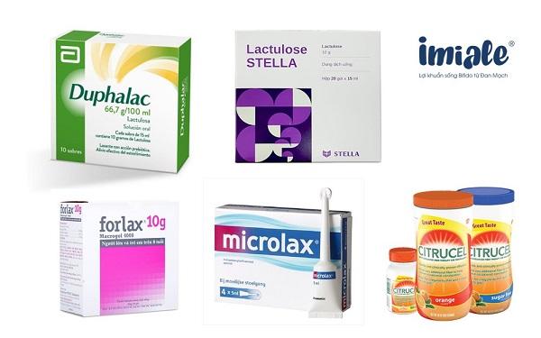 2. Nhóm thuốc làm tăng khối lượng phân 1