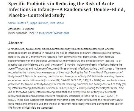 2.1. Nghiên cứu khoa học Imiale giảm 50% nguy cơ mắc nhiễm trùng và tần suất sử dụng kháng sinh ở trẻ nhỏ 1