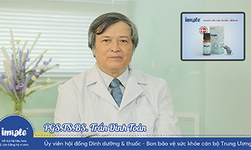 PGS.TS.Bs. Tran Dinh Toan chia se Imiale
