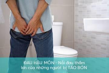 tao-bon-gay-dau-hau-mon táo bón gây đau hậu môn