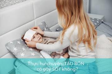 tao-bon-gay-sot táo bón gây sốt
