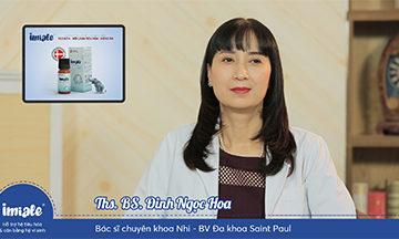 Ths.Bs. Đinh Ngọc Hoa chia sẻ về ưu điểm VƯỢT TRỘI của Lợi khuẩn sống Imiale