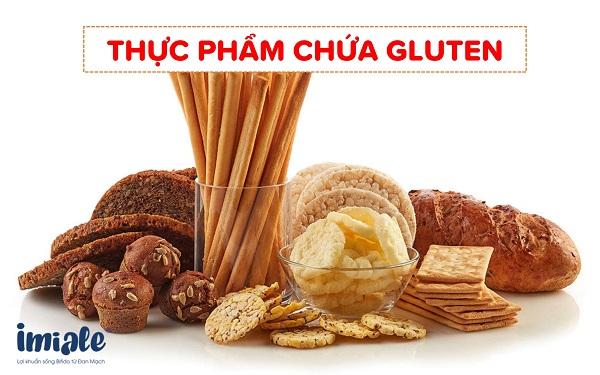 1.2.Thực phẩm chứa gluten: 1