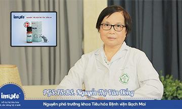 PGS. TS. BS. Nguyễn Thị Vân Hồng chia sẻ tầm quan trọng của Bifidobacterium BB12®