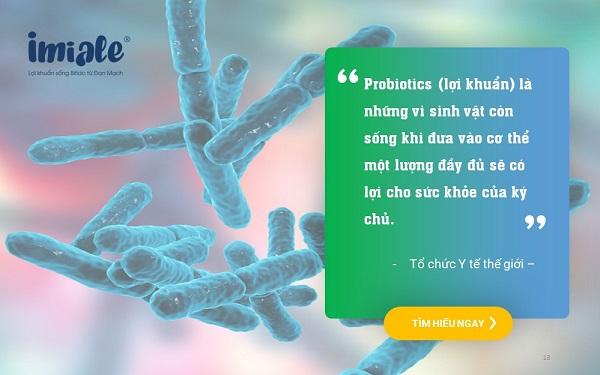 Định nghĩa lợi khuẩn uWHO