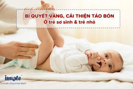 Giải pháp toàn diện phục hồi táo bón ở trẻ sau 4 tuần