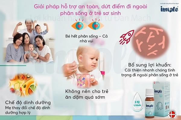 IV. Giải pháp hỗ trợ an toàn, dứt điểm đi ngoài phân sống ở trẻ sơ sinh 1