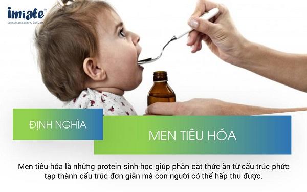3.3. Bổ trợ hệ tiêu hóa cho trẻ đi ngoài phân sống bằng men tiêu hóa trong thời gian ngắn 1