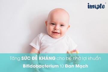 Tăng sức đề kháng nhờ lợi khuẩn Bifidobacterium từ Đan Mạch