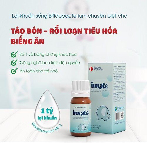 III. Bổ sung lợi khuẩn phục hồi nhu động ruột của trẻ táo bón 1