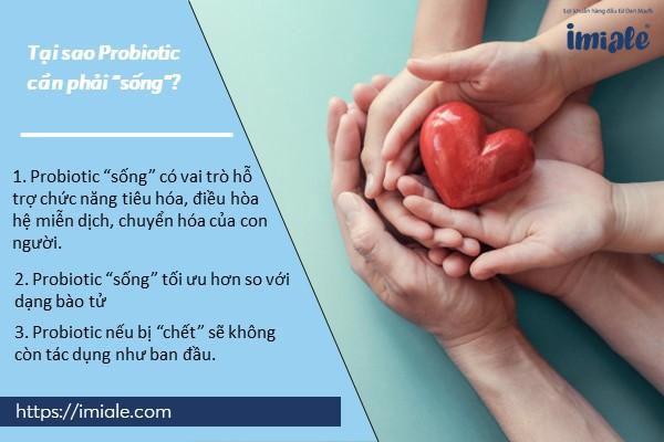 """2. Tại sao Probiotic cần phải """"sống""""? 1"""