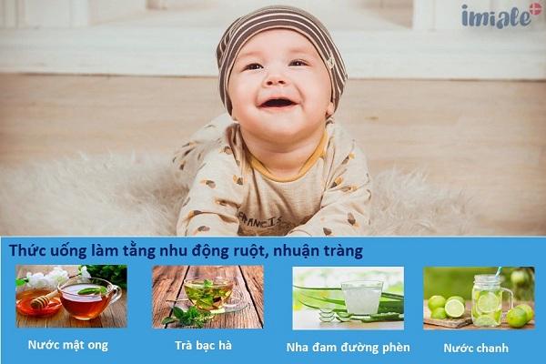 I. Các loại thức uống làm tăng nhu động ruột, nhuận tràng 1