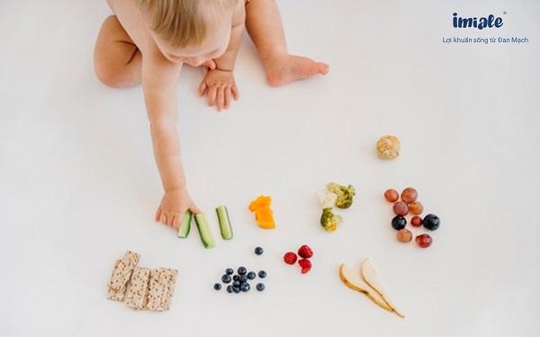 chế độ ăn của trẻ đa dạng