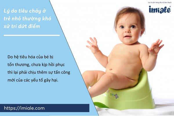 II - Lý do tiêu chảy ở trẻ nhỏ thường khó xử trí dứt điểm 1