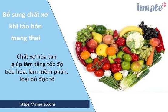 3. Thực hiện chế độ ăn uống hợp lý giúp giảm táo bón khi mang thai 1