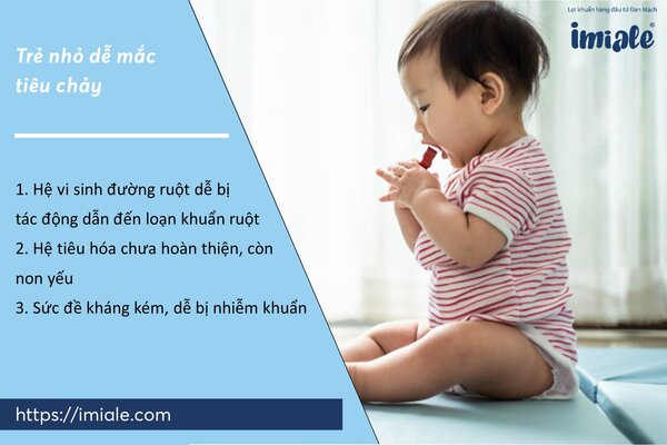 I - Tại sao trẻ nhỏ thường dễ mắc tiêu chảy? 1