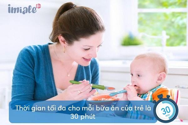 5. Chú ý thời gian cho mỗi bữa ăn 1
