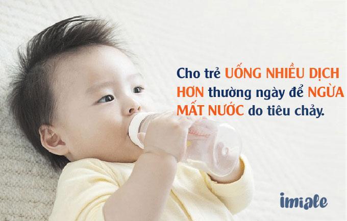 2. Phác đồ điều trị đối với trẻ không mất nước ( Phác đồ A) 1