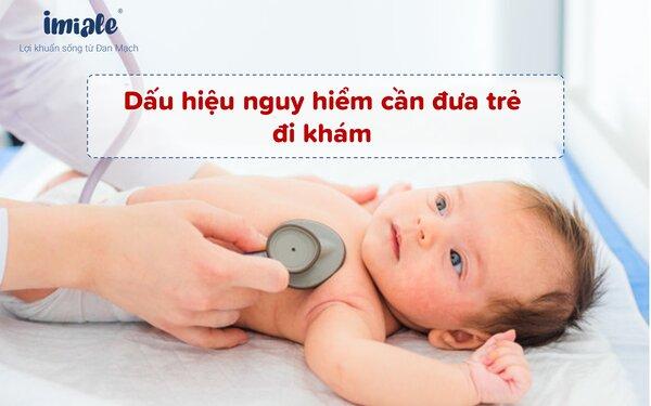 Điều số 2: Dấu hiệu nguy hiểm cần đưa trẻ bị tiêu chảy đi khám 1