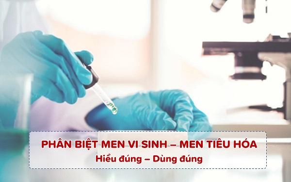 Phân biệt men vi sinh và men tiêu hóa cho trẻ 1