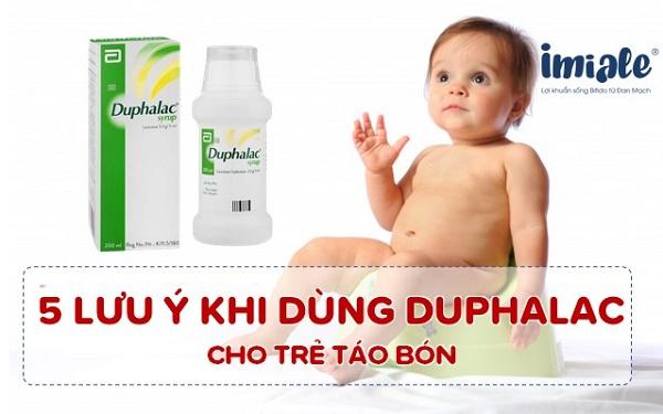 5+ Lưu ý phải biết khi sử dụng Duphalac cải thiện táo bón 1