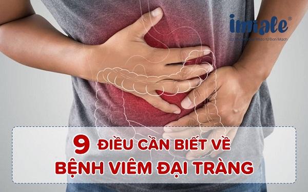 9 điều cần biết về bệnh viêm đại tràng 1