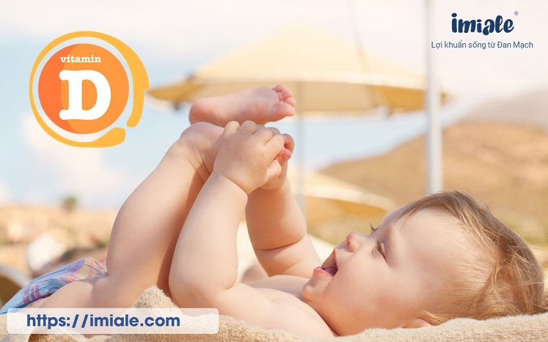 Bổ sung Vitamin D cho bé