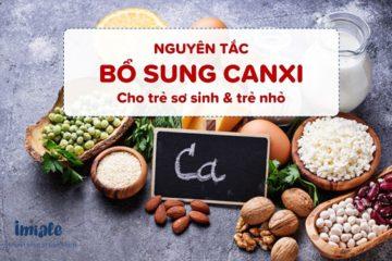 nguyên tắc bổ sung Canxi