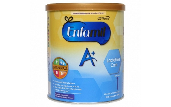 Sữa Enfamil A+ Lactofree Care