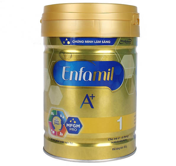 4. Sữa Enfamil (Mỹ) 1