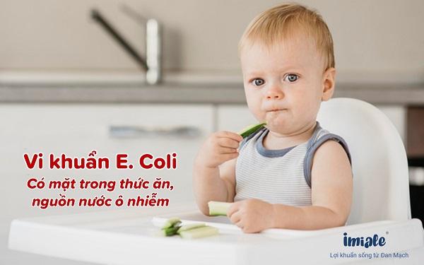 1.1. Trẻ bị nhiễm trùng đường ruột do vi khuẩn 1