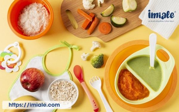 chế độ ăn cho trẻ