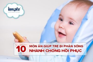 10 mon an cho tre di phan song