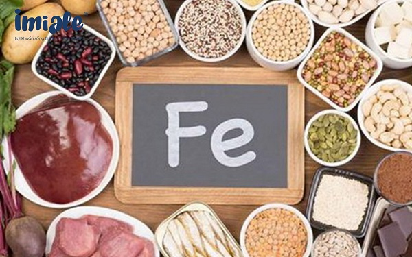 thực phẩm chứa sắt