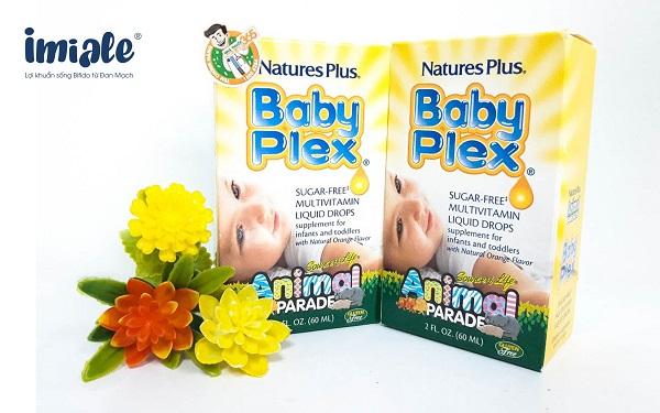 vitamin tổng hợp cho bé - baby plex