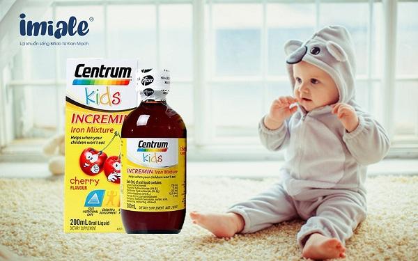 vitamin tổng hợp cho bé - centrum