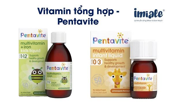 vitamin tổng hợp cho bé - pentavite