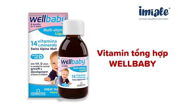vitamin tổng hợp cho bé - wellbaby