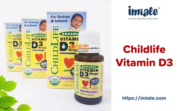 3.3. Childlife vitamin D3 1