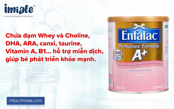 3.8 Sữa Enfalac Premature Formula 1