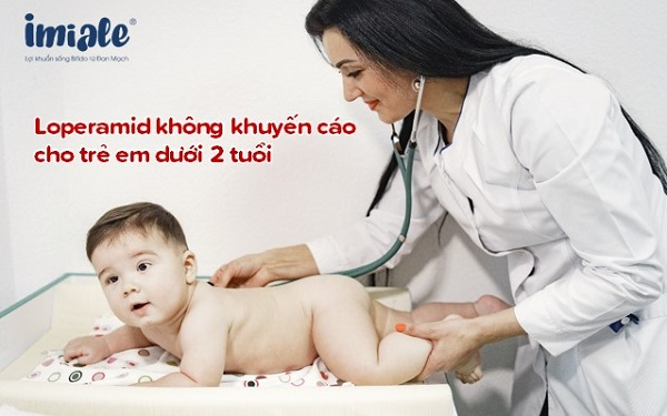 không khuyến cáo dùng cho trẻ dưới 2 tuổi