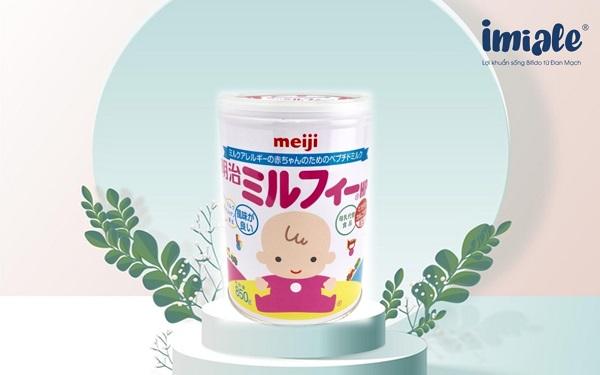 3.1 Sữa Meiji Milfee HP: 1