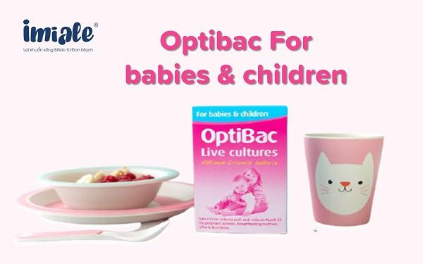 3. Optibac For babies & children (Optibac hồng) 1