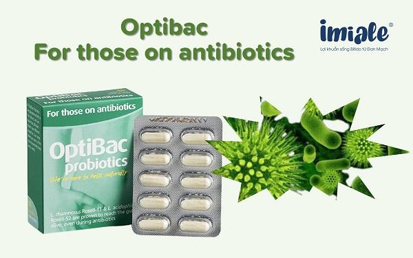 13. Optibac For those on antibiotics 1