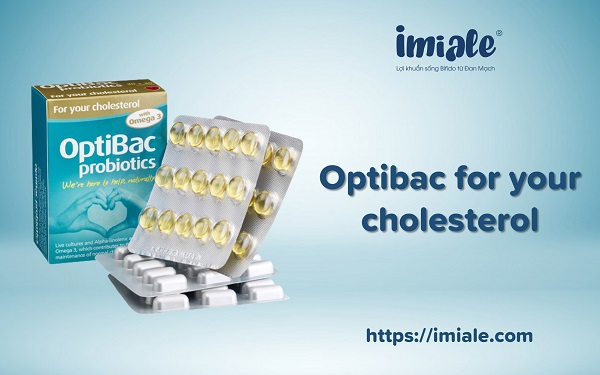 16. Optibac for your cholesterol 1