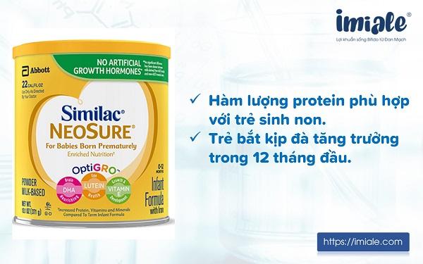 3.1. Similac Neosure Infant Formula (dạng bột) 1
