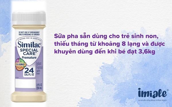 3.3. Sữa Similac Special Care (dạng nước) 1